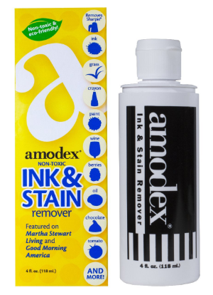 Amodex - how to remove ink stains