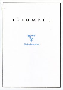 Clairefontaine Triomphe, one of the best gifts for pen collectors