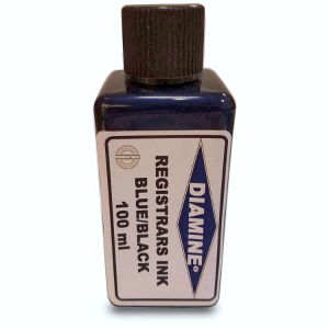 Diamine Ink Registrars Blue/Black