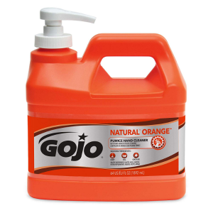 Gojo hand cleaner - how to remove ink stains